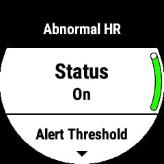 this is how to enable the garmin abnormal heart rate alert 2 - This is how to enable the Garmin abnormal heart rate alert