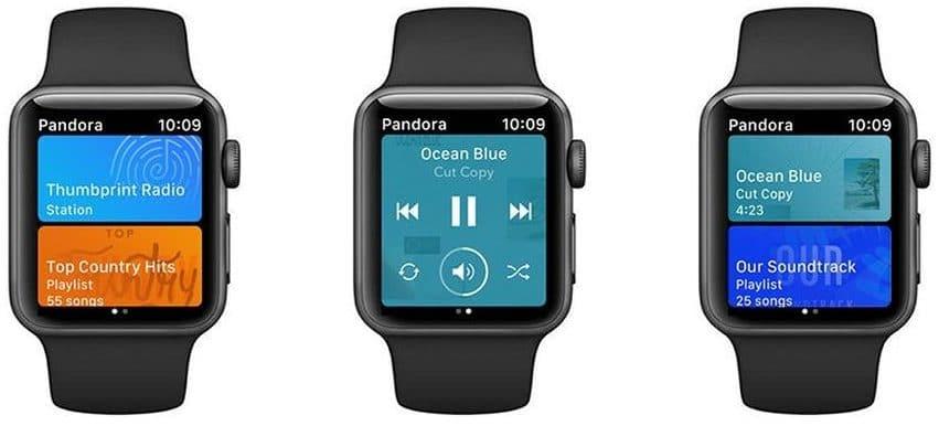 pandora apple watch app no longer needs a smartphone to function - Pandora Apple Watch app no longer needs an iPhone to function