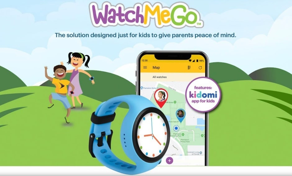 sprint launches gps enabled watchmego its first smartwatch for kids 1 - Sprint launches GPS-enabled WatchMeGo, its first smartwatch for kids