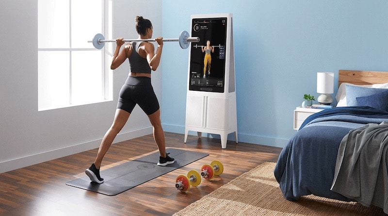 Tempo opens up sales for its $1995 home-workout mirror