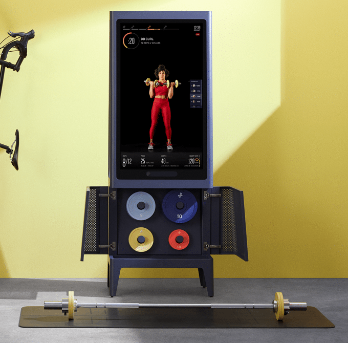tempo opens up sales for its 1995 home workout mirror - Tempo opens up pre-orders for its $1995 all-in-one home fitness studio