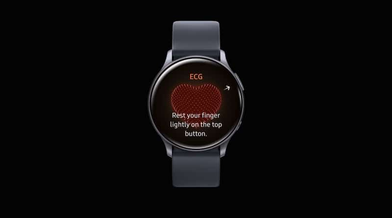 Samsung Galaxy Watch Active 2 ECG is still work in progress