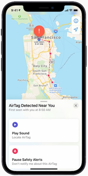 apple accidentally confirms existence of personal items tracking airtags 5 - Apple AirTags are finally official, availability starts April 30th