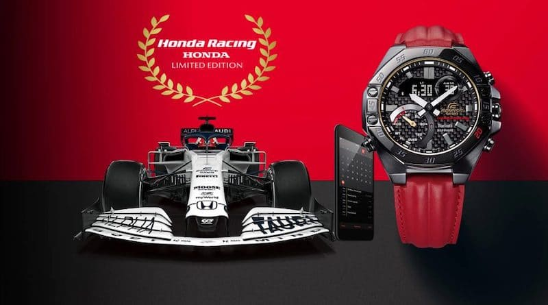 Casio's newest smartwatch is inspired by the Honda Racing team