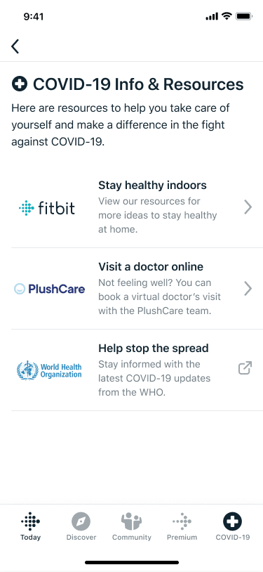 fitbit adds features to app to help protect users from covid 19 - Fitbit adds a bunch of features to app to help protect users from COVID-19