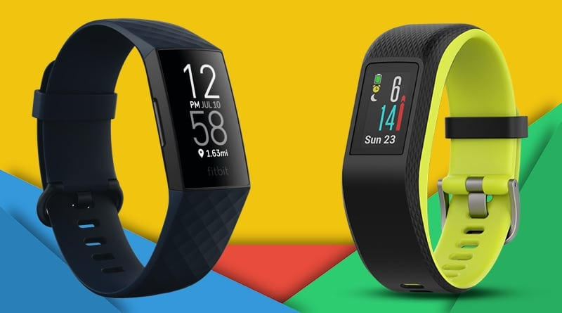 Fitbit Charge 4 vs Garmin Vivosport: battle of the GPS fitness bands