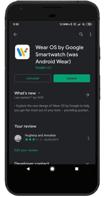"wear os by google re branded to wear os by google smartwatch 3 - ""Smartwatch"" is added to ""Wear OS by Google"" moniker"