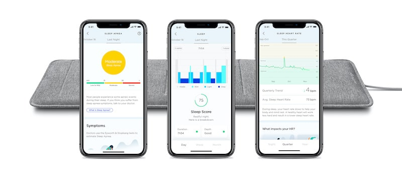 withings new under the mattress sleep tracker can detect sleep apnea 2 - Withings new under-the-mattress tracker detects sleep apnea & snoring