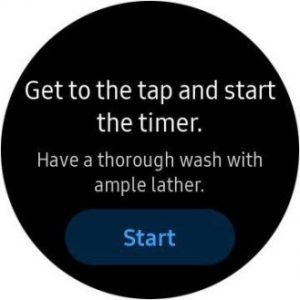 your samsung galaxy watch will help you wash your hands too 2 300x300 - Samsung has a hand washing timer and reminder watch app, too