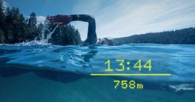 Form Swim Goggles get GPS performance metrics for outdoor swimming