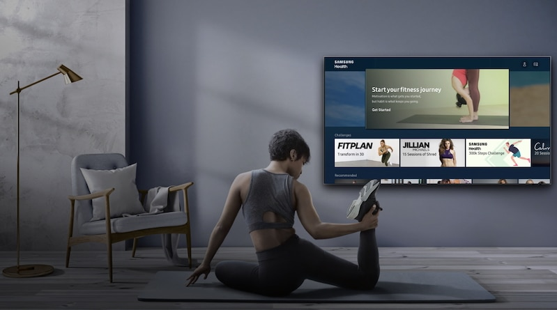 Health app comes to Samsung's 2020 smart TV lineup