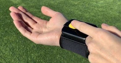 PumPix: a wearable sanitising dispenser to help fight germs