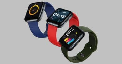 [updated] Realme's first smartwatch to launch by May-end, leaked renders