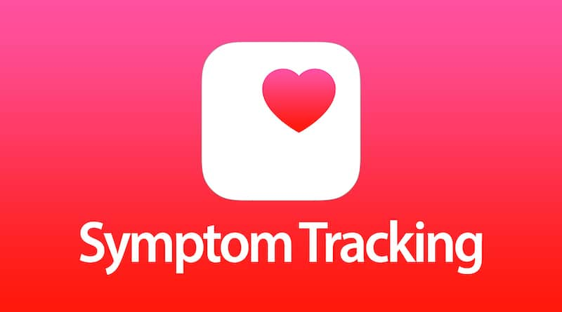 Health app iOS 13.6 beta released today adds a Symptoms Tracking section