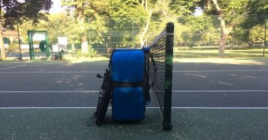 Slinger Bag review: your very own portable tennis ball launcher