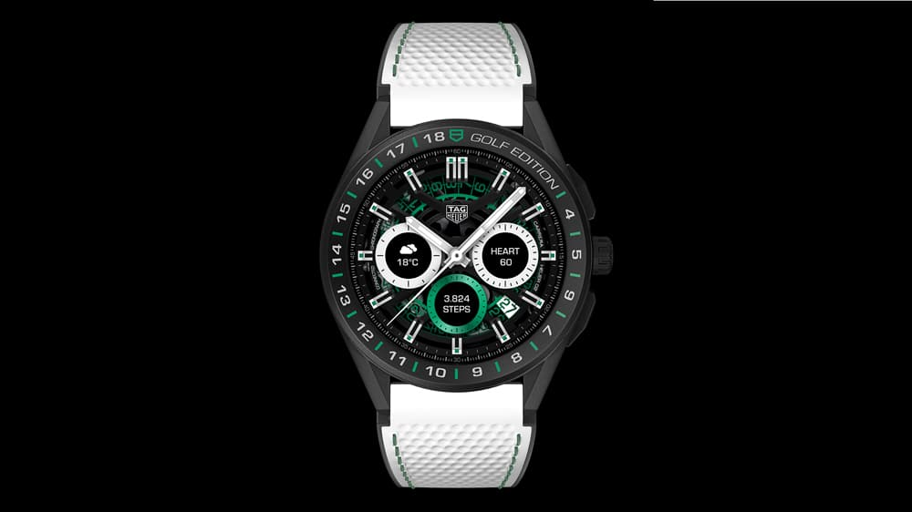 tag heur announces the 2550 connected golf edition 2020 2 - Tag Heuer announces the $2,550 Connected Golf Edition 2020