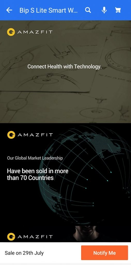 Amazfit Bip S Lite to launch in India on July 29th
