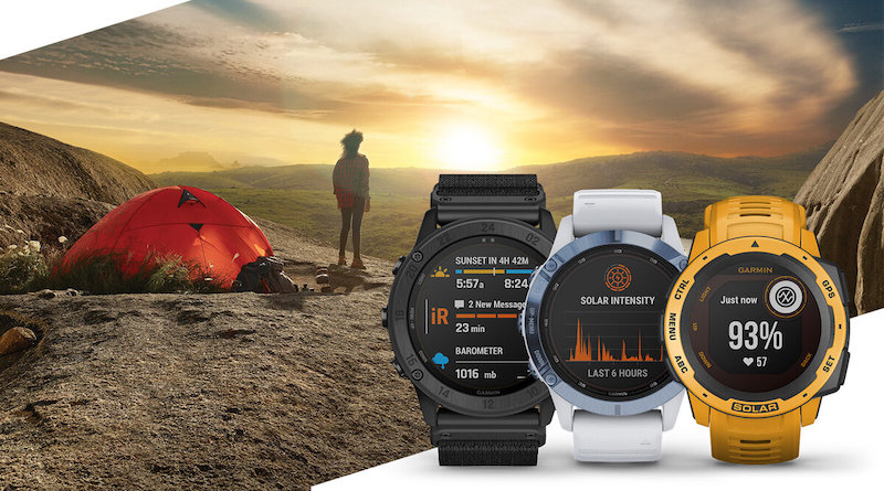 Garmin adds Solar charging to other watches in its range