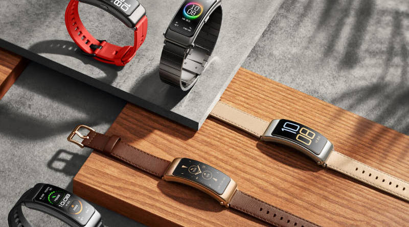Huawei Talkband B6 leaks on social media ahead of official release
