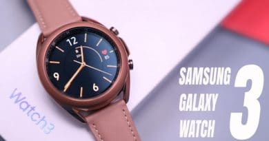 Samsung Galaxy Watch 3, hands-on videos shows new features