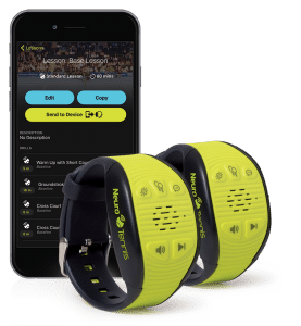 the neurotennis wristband helps you improve by training your brain 1 277x300 - The NeuroTennis wristband coaches you while you play