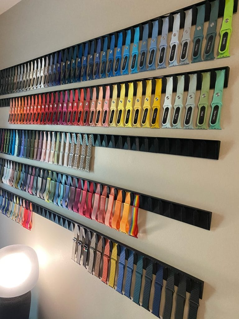think you have too many apple watch bands think again 1 768x1024 - Think your Apple Watch band collection is impressive? Think again!