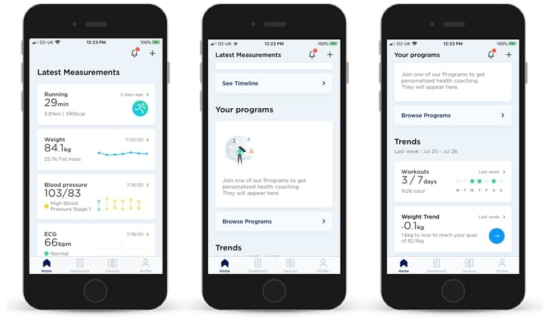 withings health mate 5 comes with a redesign and personalized insights 1 - Withings Health Mate 5 comes with a redesign and personalized insights