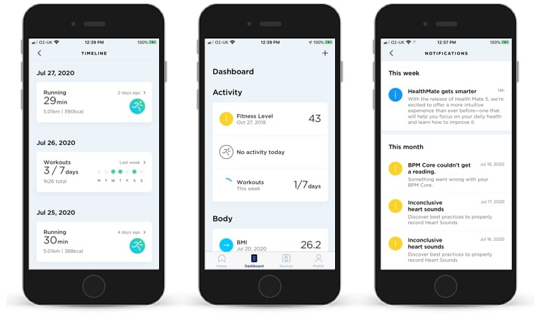 withings health mate 5 comes with a redesign and personalized insights 2 - Withings Health Mate 5 comes with a redesign and personalized insights