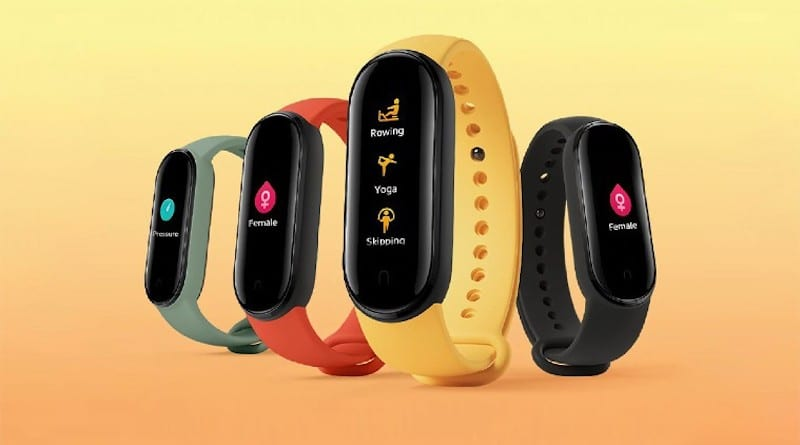 Xiaomi Mi Smart Band 5 can now be purchased on Amazon