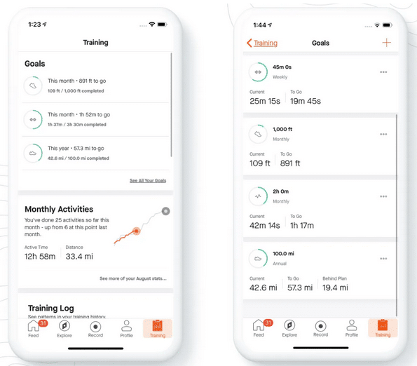 strava fitness goals get support for all sport types more - Strava fitness goals get support for all sport types, more