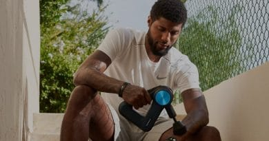 US tennis teams up with Theragun on workout recovery