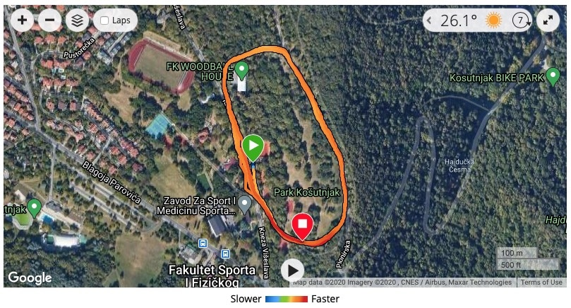 garmin adds colors for pace heart rate elevation on routes - Garmin adds colors for pace, heart rate & elevation on routes