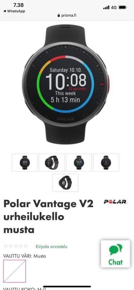 polar vantage v2 rumored to arrive in early october - Polar Vantage V2 rumored to arrive in early October