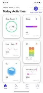 sensoria first smart band tracks activity temperature blood oxygenation 2 138x300 - Sensoria's first smart band can detect potential Covid-19 symptoms