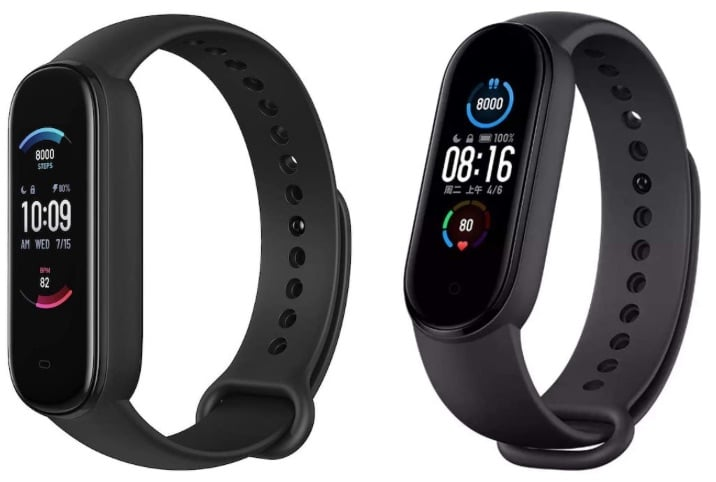 amazfit band 5 vs xiaomi mi band 5 what the difference 3 - Amazfit Band 5 vs Xiaomi Mi Band 5: what's the difference?