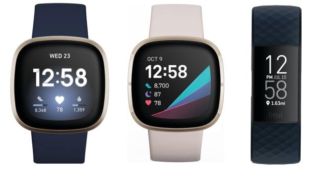 fitbit sense vs versa 3 vs charge 4 comparison feature - Fitbit Sense vs Versa 3 vs Charge 4: comparison feature