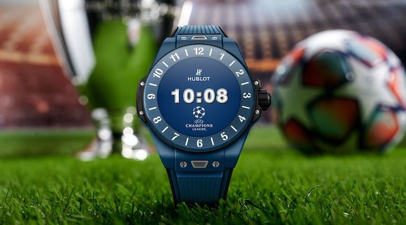 The Big Band E UEFA Champions League is Hublot's next smartwatch