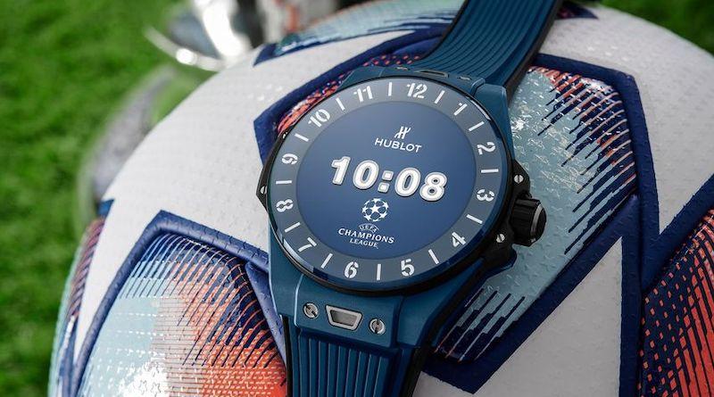 the big bang e uefa champions league is hublot next smartwatch - The Big Bang E UEFA Champions League is Hublot's latest smartwatch