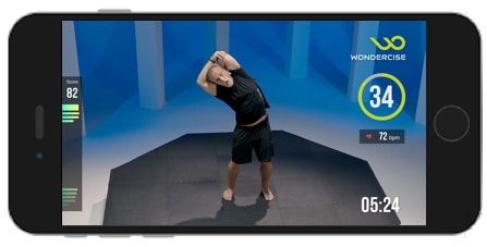 wondercise review on line workouts with a motion matching fitness band 7 - Wondercise review: Gamify on-line workouts with motion matching tech