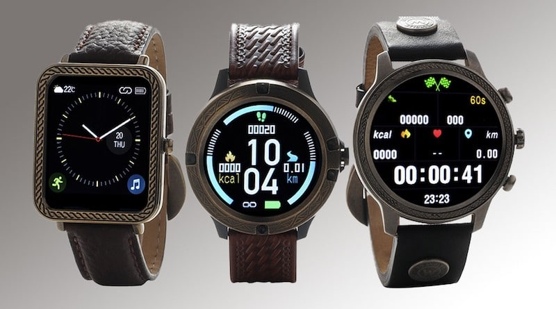 Wrangler smartwatches are designed with a Western style in mind