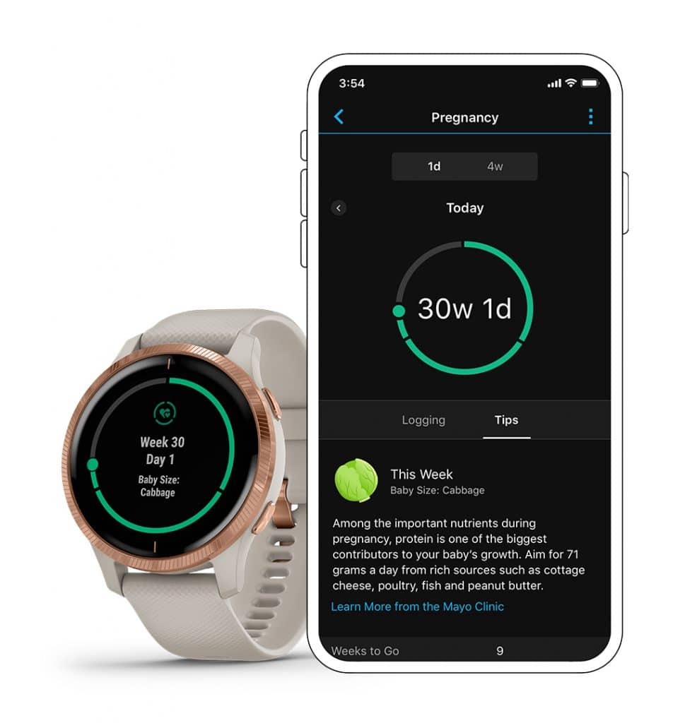 garmin adds pregnancy tracking feature 1 986x1024 - Garmin expands women's health features with pregnancy tracking