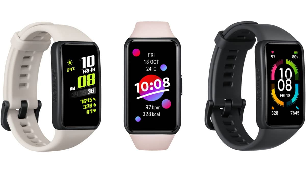 honor band 6 with a full screen display blurs the line with smartwatches 1 - The best wearables, health and fitness tech of CES 2021