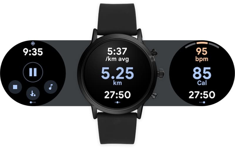 Updates to Google Fit on Wear OS, new features, fresh UI