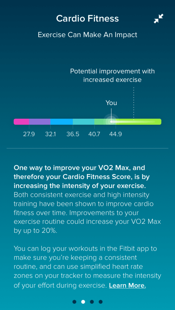 fitbit cardio fitness score everything you need to know 1 - Fitbit cardio fitness score: everything you need to know