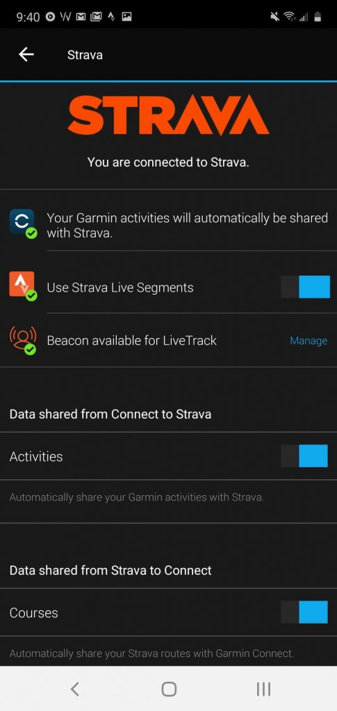 how to connect garmin and strava to sync workouts 1 485x1024 - Connect Strava to Garmin to sync workouts, here's how to do it