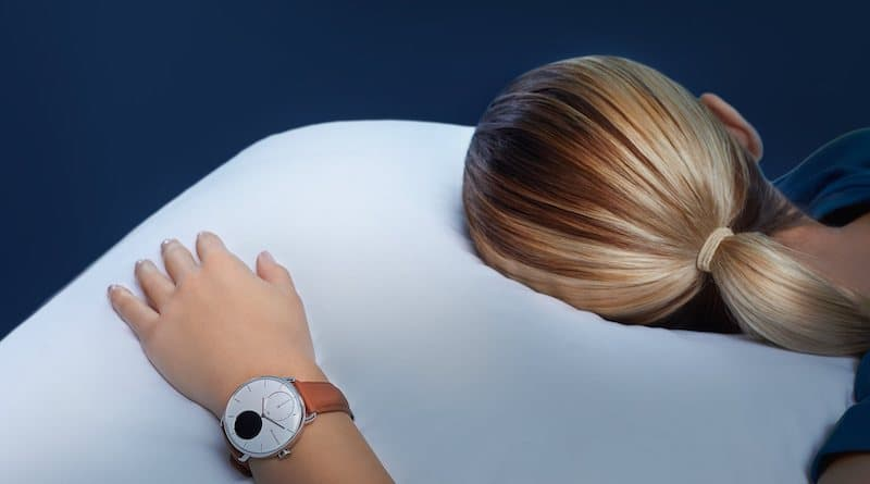 ScanWatch gets oxygen saturation during sleep & breathing disturbances
