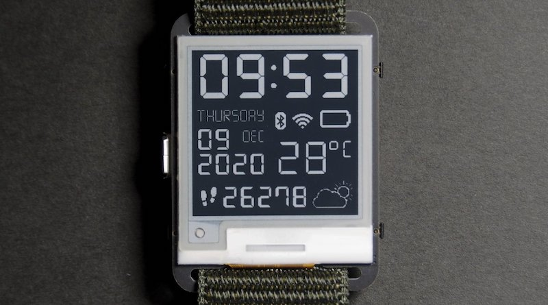a pebble replacement watchy arduino e paper smartwatch is available now 2 - A Pebble replacement? Watchy Arduino e-paper smartwatch is available now.