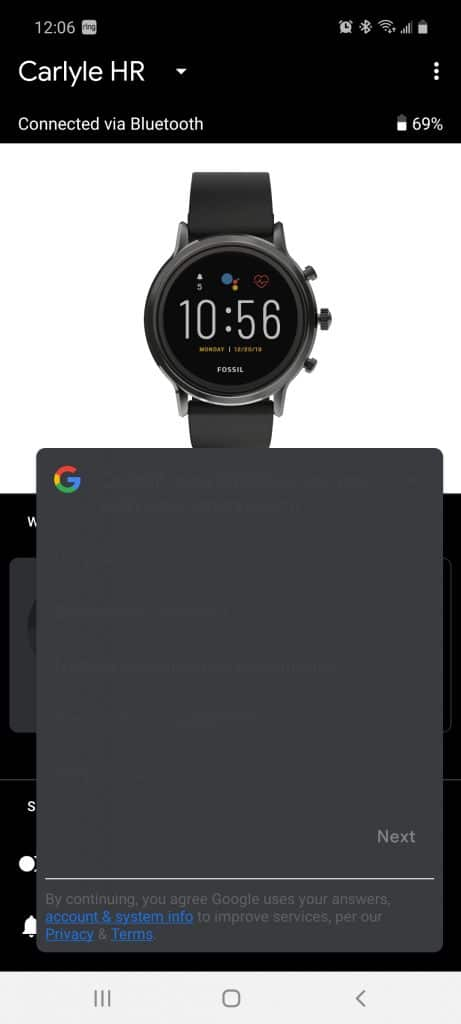 google makes a blunder with the wearos customer satisfaction survey 461x1024 - Google makes a blunder with WearOS customer satisfaction survey