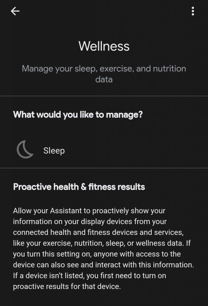 google updates its assistant with a new wellness section e1611662635283 698x1024 - Google's new Nest Hub comes with contactless sleep tracking