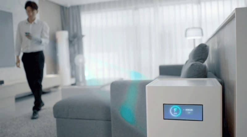 Mi Air Charge can reful your devices from several meters away